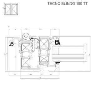 TECNO BLINDO 100 TT